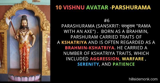 10 Vishnu Avatar In Hinduism-PARSHURAMA