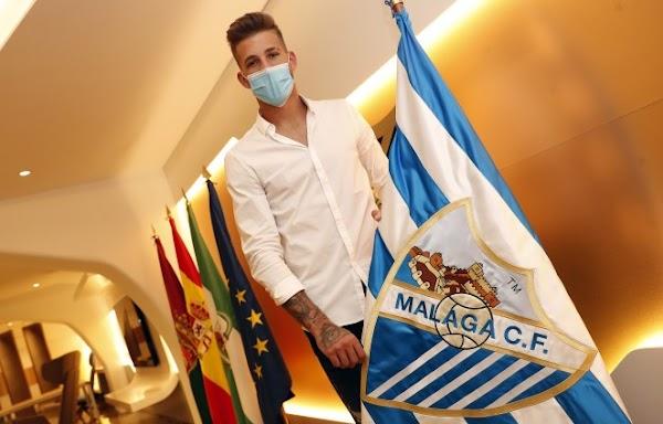 Oficial: El Málaga renueva dos temporadas a Kellyan y lo cede al UD Ibiza