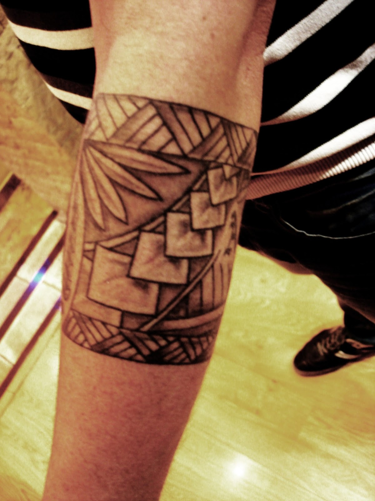 Toop Tattoo Brazalete Atletico De Madrid