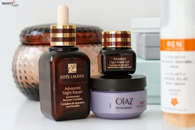 Estée Lauder Advanced Night Repair - Olaz Regenerist