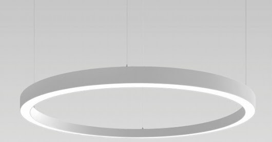 led linear lighting  ---  led circle lamp for high end decoration