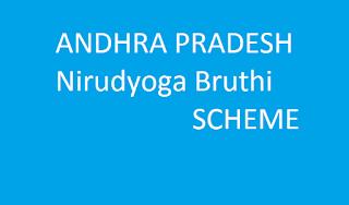 enrollment started for Nirudyoga Bruthi(నిరుద్యోగ భృతి )  Andhra Pradesh