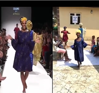 Ikorodu Bois Recreate Nigerian Ladies Dancing Shaku Shaku At Vienna Fashion Week, Austria