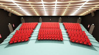 Auditorium with Props