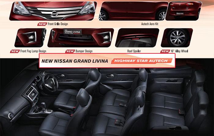 Kenyamanan Nissan New Grand Livina Untuk Keluarga Indonesia