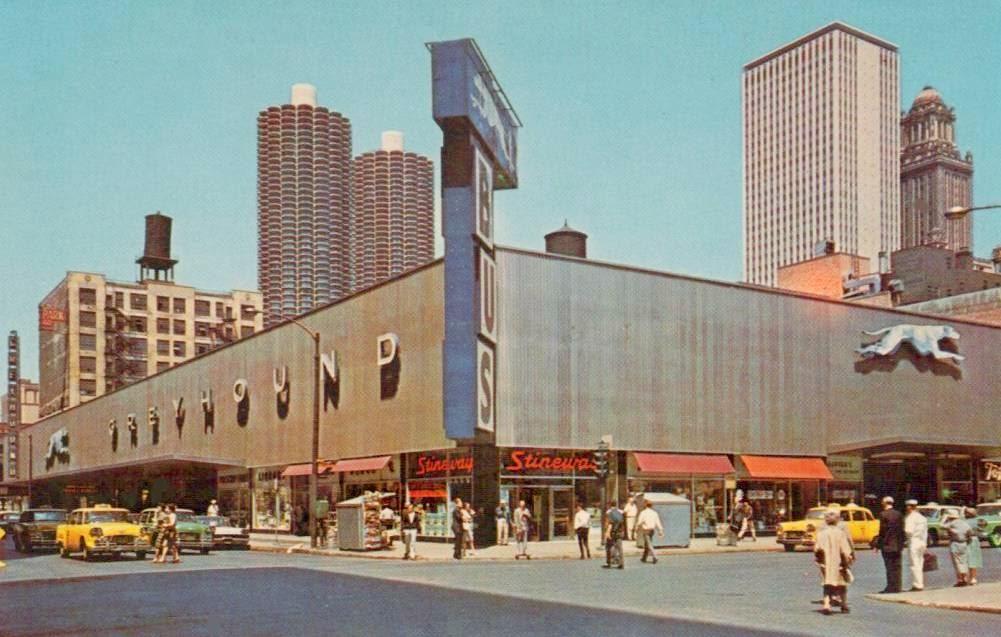 Chicago Greyhound Terminal Opens -- March 19, 1953