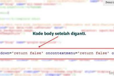 Cara Agar Blog Tidak Bisa di Copy Paste
