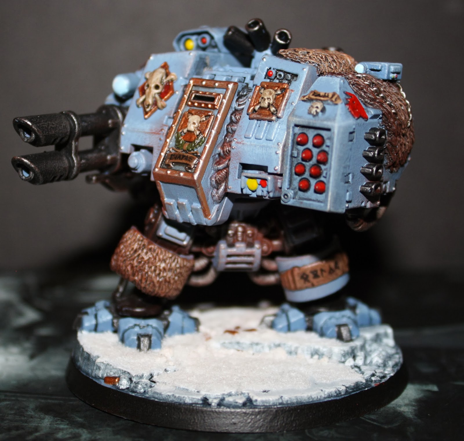 Space Wolf Dreadnought 1