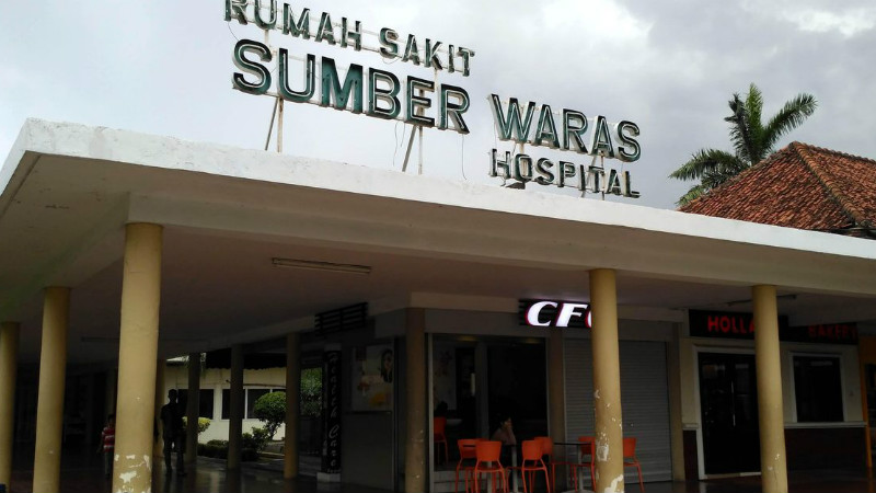 Penampakan Rumah Sakit Sumber Waras