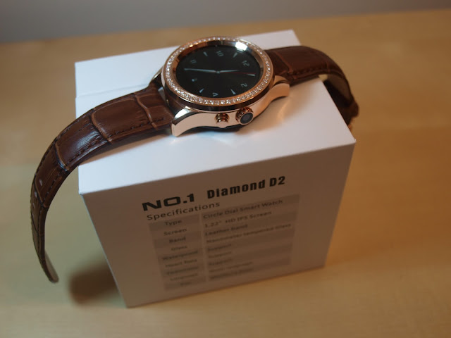 Análise Smartwatch No.1 D2 34