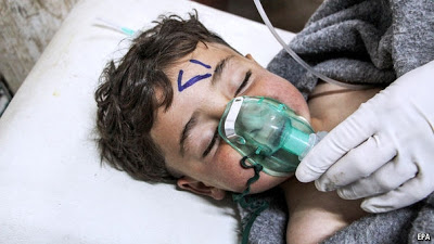 Breaking! US launches missiles at Syrian base after Pres Assad's chemical weapons attack on his own people