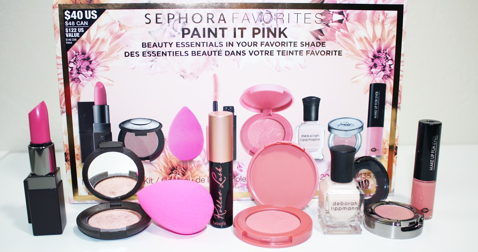 Sephora Favorites Paint In Pink Value Kit