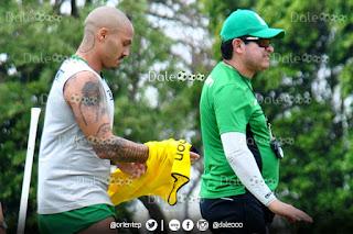 Maximiliano Freitas retorna a las prácticas en Oriente Petrolero - DaleOoo