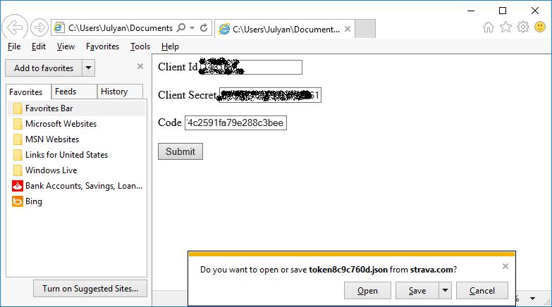Midland Cyclist: Strava Data Analysis - A PC Based Visual C#