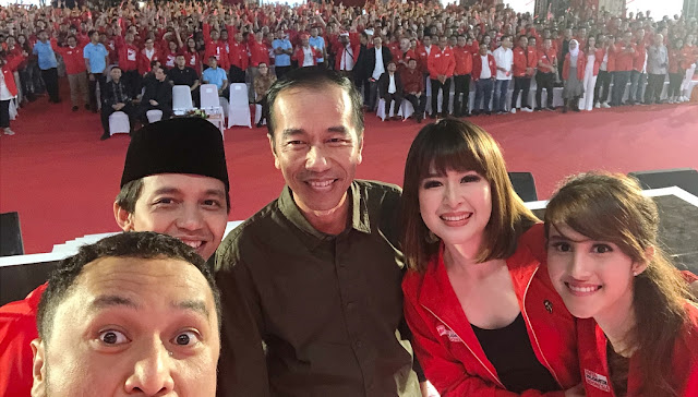 PSI Berang Dituding Penyebab Turunnya Elektabilitas Jokowi