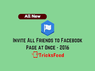 Invite all friends to facebook page at once script