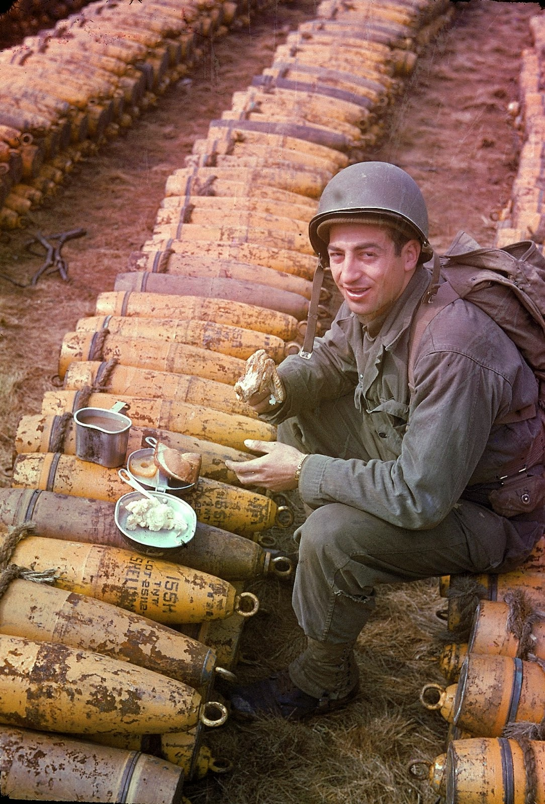 27 Rare Color Photographs From World War Ii Vintage Everyday