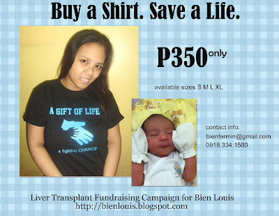 Buy A Shirt. Save A Life.