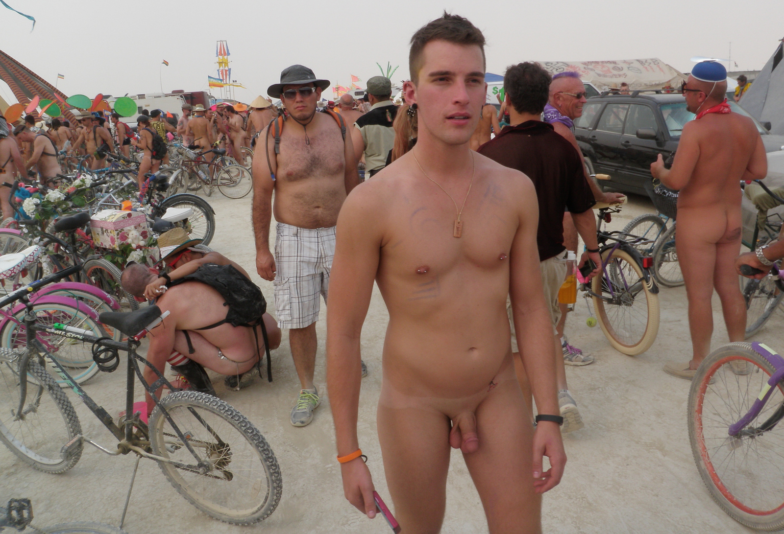 naked guys at burning man