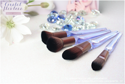 recensione NeveCosmetics Crystal Flawless Brushes