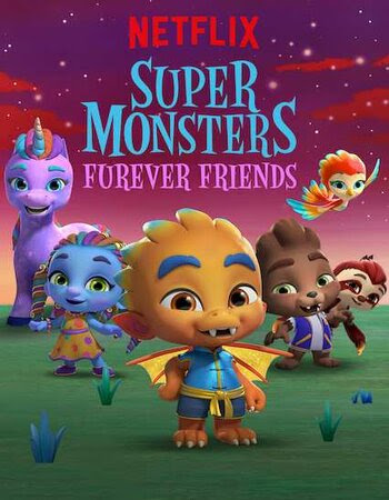 Poster Of Super Monsters Furever Friends 2019 In Hindi Bluray 720P Free Download