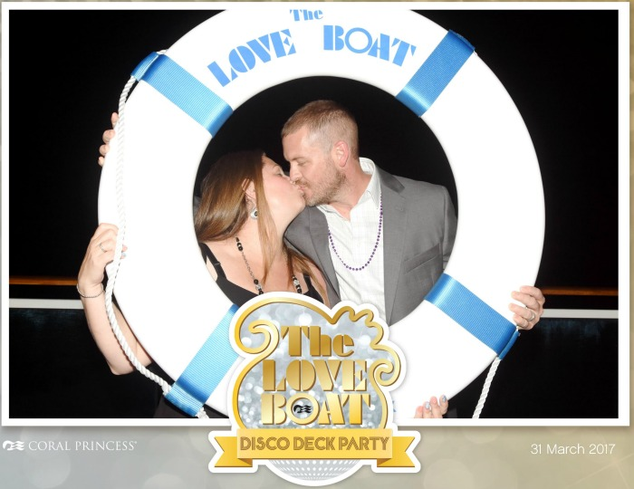 Princess Coral Cruise Ship The Love Boat Disco Deck Party