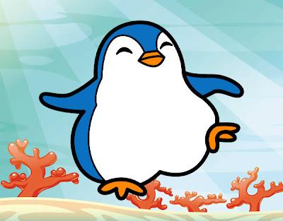 La Chachipedia: Dibujos de pingüinos para colorear