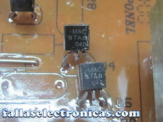 circuito electronico de descongelamiento