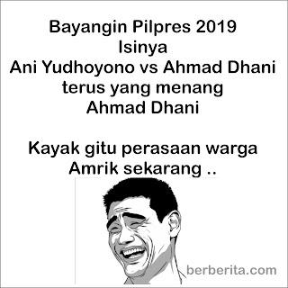 Meme Donald Trump Indonesia setelah Jadi Presiden AS