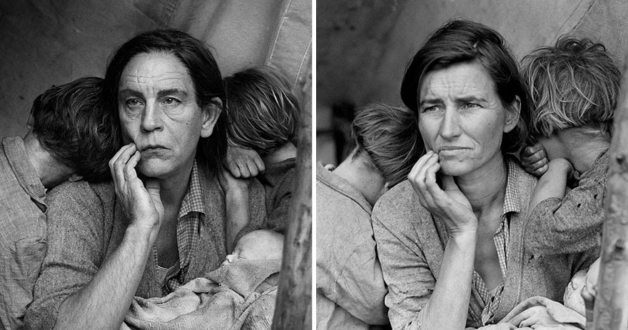 Photographer Recreated Iconic Portraits Using John Malkovich as His Model, And the Results Are Absolutely Brilliant!