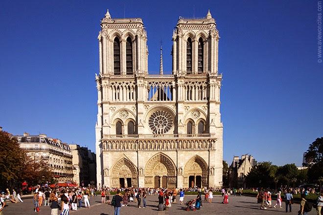 O que fazer em Paris Catedral de Notre Dame