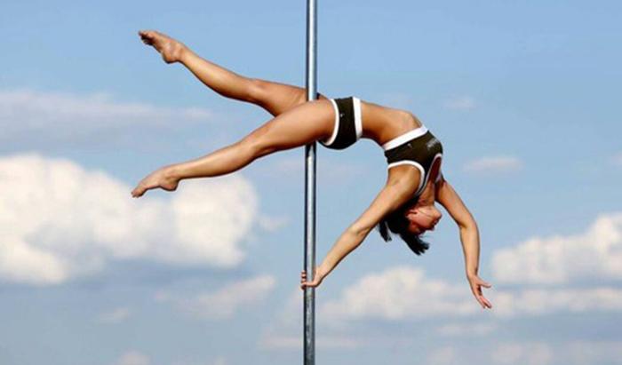 Como é fazer Pole Dance?