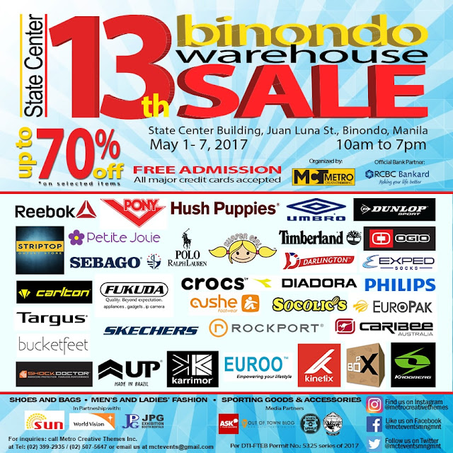 228db0322 13th Binondo Warehouse Sale - EDnything