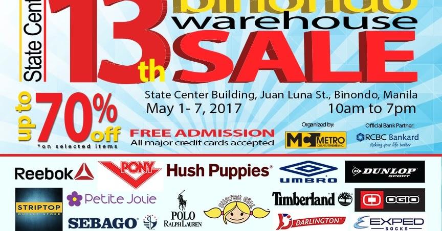 cb078ef87cbb 13th Binondo Warehouse Sale - EDnything