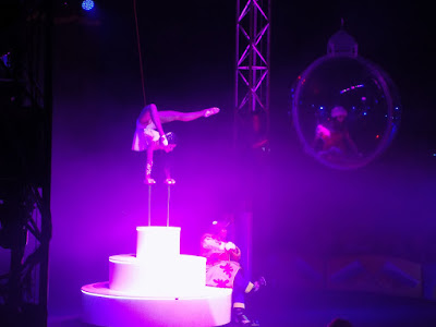 Acrobats at Moscow State Circus