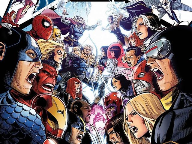 Apa Jadinya Jika Avengers Melawan X-Men?