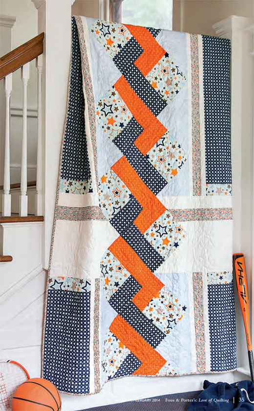 Star-Crossed Quilt Free Pattern