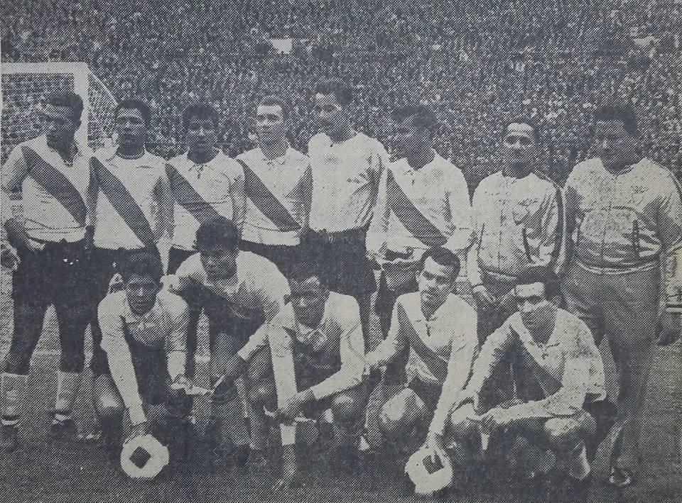 Formación de Ecuador ante Chile, Clasificatorias Inglaterra 1966, 15 de agosto de 1965