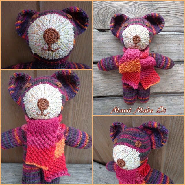 Gestrickter Bär - Knitted bear