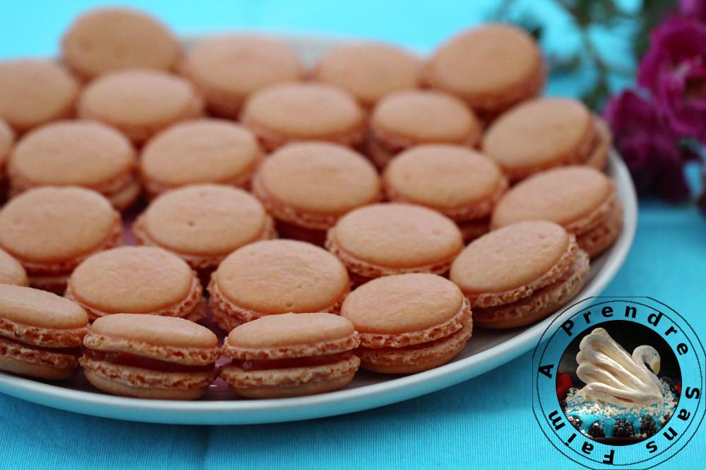 Macarons à la mangue