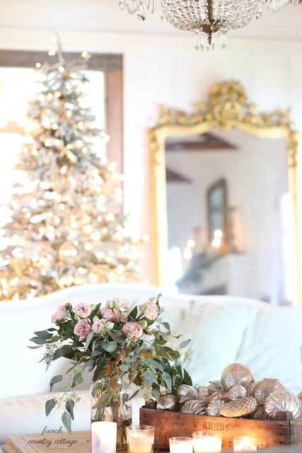 French country Friday- Silver & Gold Christmas
