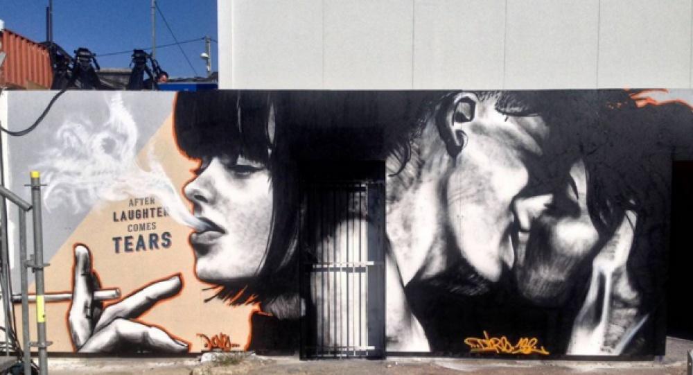 Любовный стрит арт (15 фото)