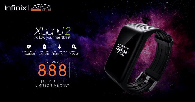 Infinix XBand 2 is available for only PHP 888