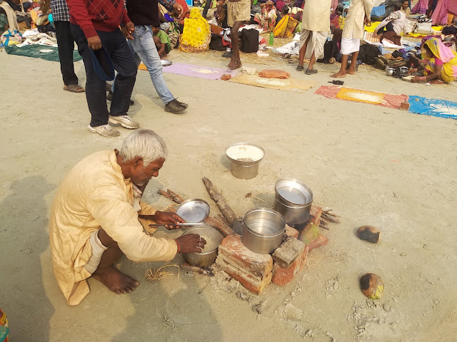 Cooking Grand Lunch, Sagar Mela 2019