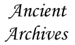 Ancient Archives