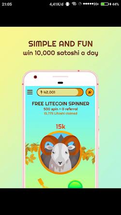 Free Litecoin Spinner aplikasi penambang litecoin