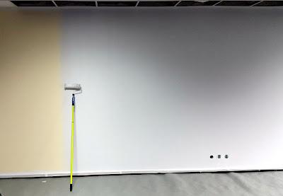 Aranżacja chillout room, malowanie pokoju relaksacyjnego w firmie, mural 3D,