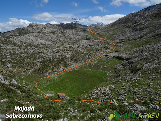 Ruta al Cantu Ceñal: Majada y Cueva de Sobrecornova