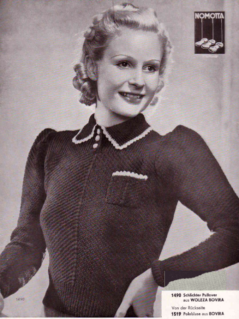 The Vintage Pattern Files: Free German 1930's Knitting Pattern Booklet - Die Schachenmayrin 1/39