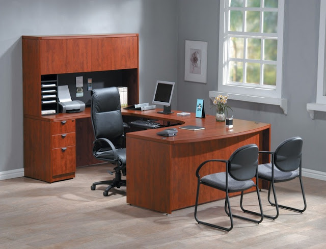 buying discount used wood office furniture Asheville NC for sale